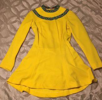 yellowskatedress